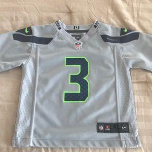 Seattle Seahawks Russell Wilson 3 Nike Jersey